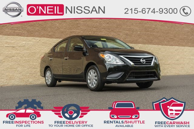 2019 Nissan Versa Sedan SV SV CVT Regular Unleaded I-4 1.6 L/98 [6]