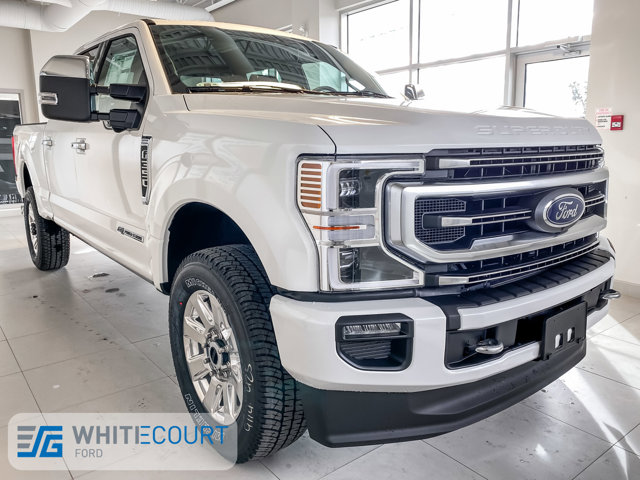 2020 Ford Super Duty F-350 SRW Platinum Crew Cab 4WD Platinum 4WD Crew Cab 6.75′ Box Intercooled Turbo Diesel V-8 6.7 L/406 [9]