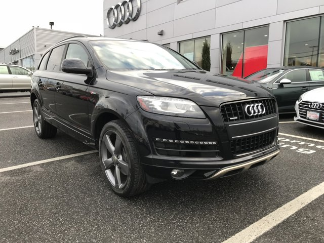 2014 Audi Q7 30T S line Prestige BLACK  LEATHER SEATING SURFACES TOWING PACKAGE  -inc 6 600 lbs