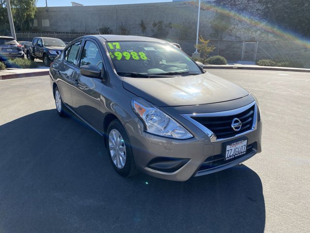 2017 Nissan Versa Sedan S Plus S Plus CVT Regular Unleaded I-4 1.6 L/98 [0]