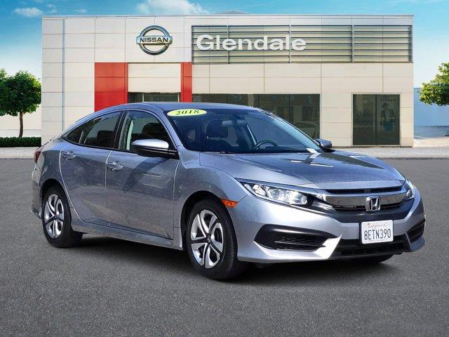 2018 Honda Civic Sedan LX LX CVT Regular Unleaded I-4 2.0 L/122 [1]
