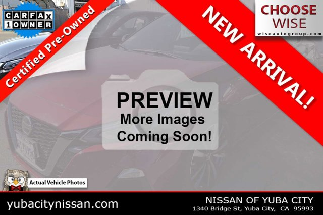2020 Nissan Altima 2.5 SR 2.5 SR Sedan Regular Unleaded I-4 2.5 L/152 [21]