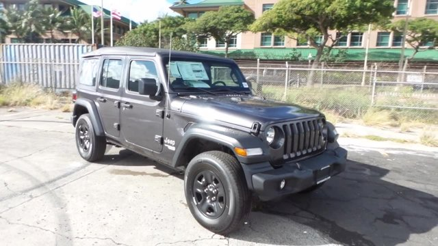 2020 Jeep Wrangler Unlimited Sport 4x4