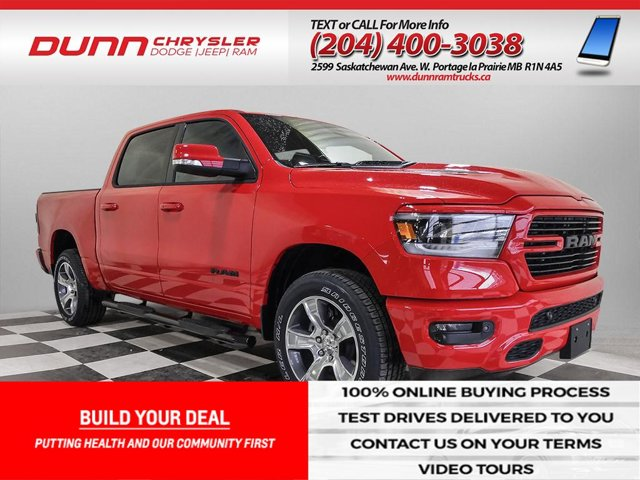 2020 Ram 1500 | SPORT Crew Cab 4x4 | REMOTE START | HEATED SEATS | Sport 4x4 Crew Cab 5'7″ Box Regular Unleaded V-8 5.7 L/345 [0]