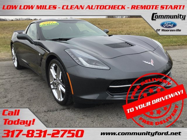Used 2017 Chevrolet Corvette in Bloomington, IN