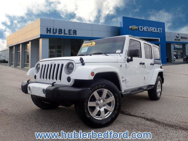 Used 2016 Jeep Wrangler Unlimited in Greenwood, IN
