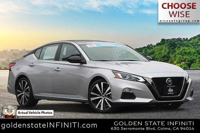 2020 Nissan Altima 2.5 SR 2.5 SR Sedan Regular Unleaded I-4 2.5 L/152 [1]