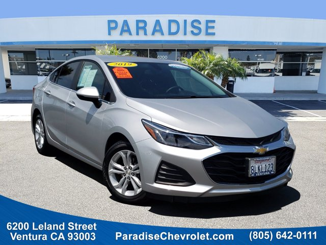 2019 Chevrolet Cruze LT 4dr Sdn LT Turbocharged Gas I4 1.4L/85 [3]