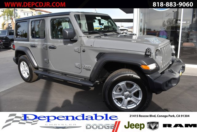 2021 Jeep Wrangler Unlimited Rubicon Rubicon Unlimited 4x4 Intercooled Turbo Premium Unleaded I-4 2.0 L/122 [1]