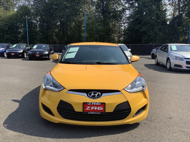 Used 2016 Hyundai Veloster 3dr Cpe Man