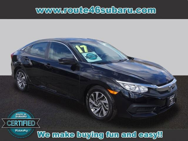 Used 2017 Honda Civic Sedan in Little Falls, NJ
