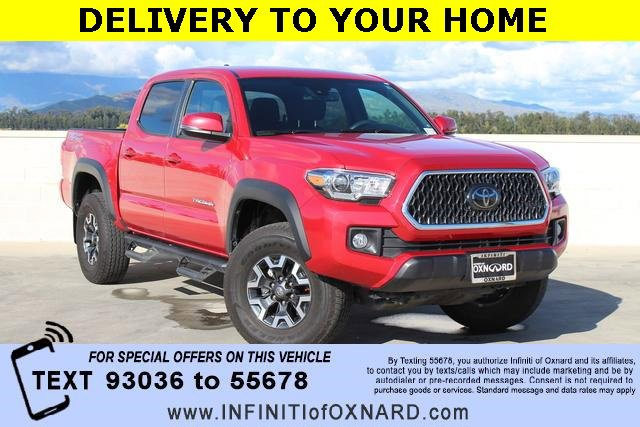 2018 Toyota Tacoma  Rear Wheel Drive Tow Hitch Power Steering ABS Front DiscRear Drum Brakes