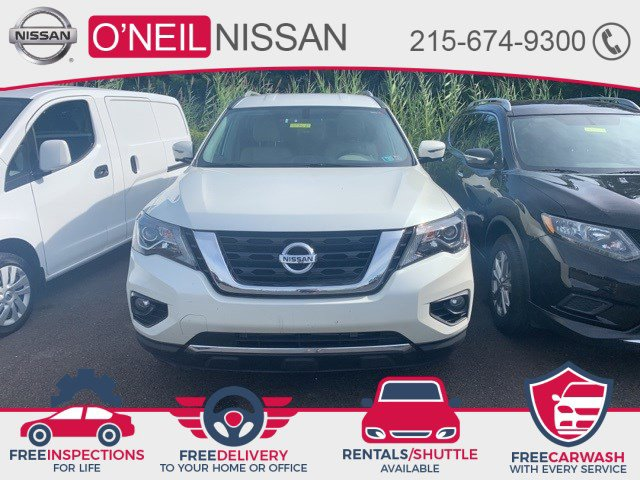 2017 Nissan Pathfinder SL 4x4 SL Regular Unleaded V-6 3.5 L/213 [6]