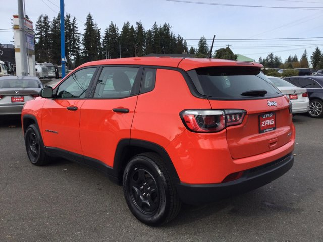 Used 2018 Jeep Compass Sport FWD