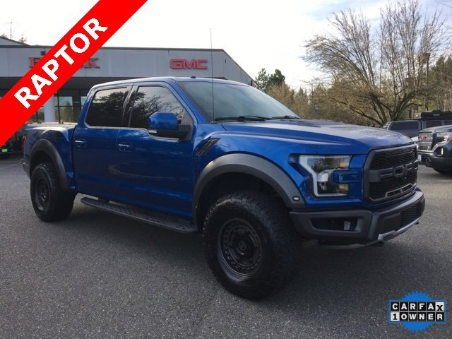 Used 2018 Ford F-150 Raptor 4WD SuperCrew 5.5' Box
