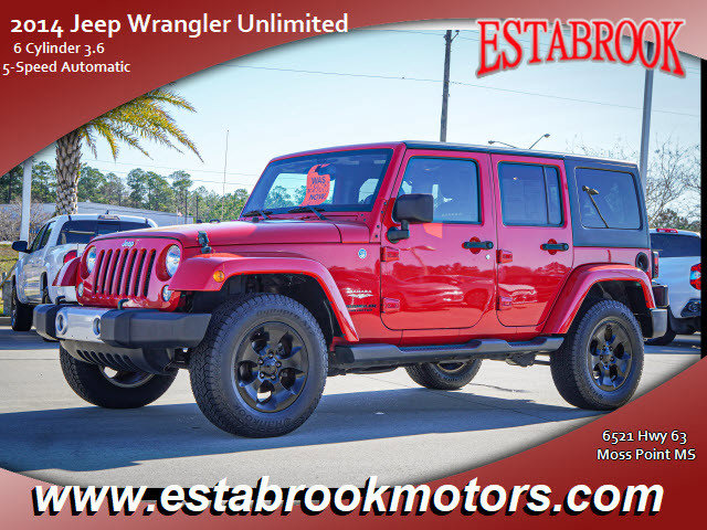 Used 2014 Jeep Wrangler Unlimited in , MS