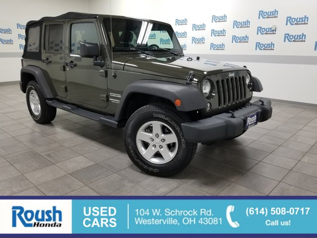Used 2015 Jeep Wrangler Unlimited in Westerville, OH