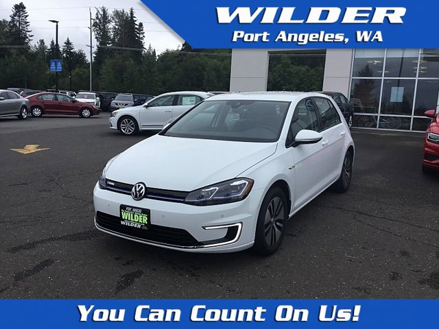 New 2019 Volkswagen e-Golf 4-Door SEL Premium