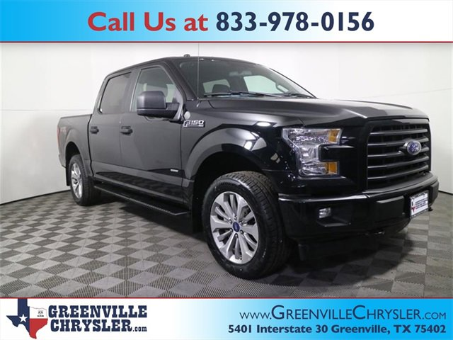 Used 2017 Ford F-150 in Greenville, TX