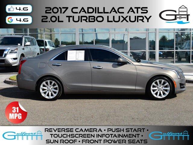 2017 Cadillac ATS Sedan RWD 4dr Sdn 2.0L RWD Turbocharged Gas I4 2.0L/122 [11]
