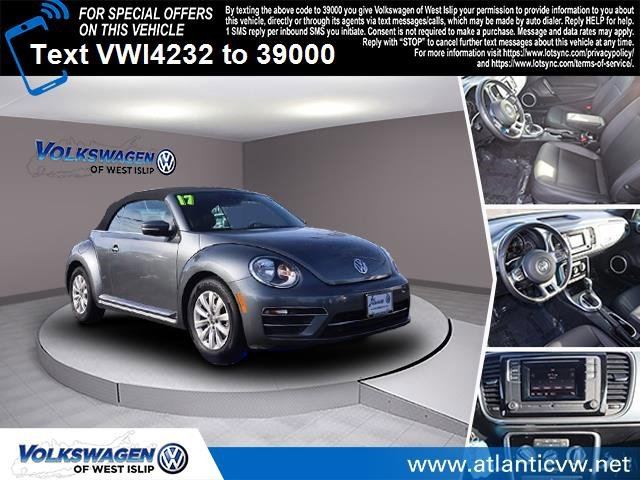 2017 Volkswagen Beetle Convertible 18T S Turbocharged Front Wheel Drive Power Steering ABS 4-W