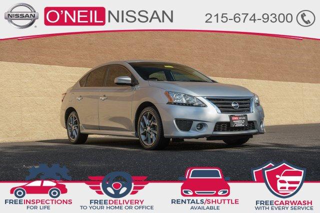 2013 Nissan Sentra SR 4dr Sdn I4 CVT SR Gas I4 1.8L/ [10]