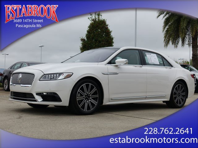 Used 2019 Lincoln Continental in Pascagoula, MS