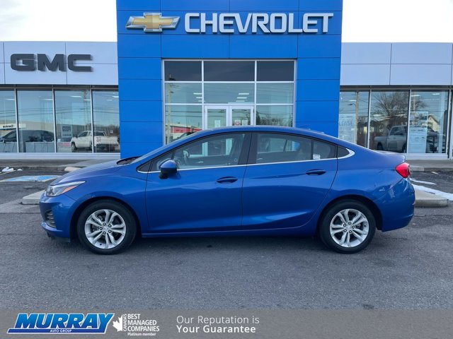 2019 Chevrolet Cruze LT 4dr Sdn LT Turbocharged Gas I4 1.4L/85 [1]