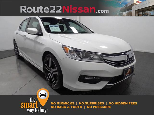 2017 Honda Accord Sedan Sport SE Sport SE CVT Regular Unleaded I-4 2.4 L/144 [18]