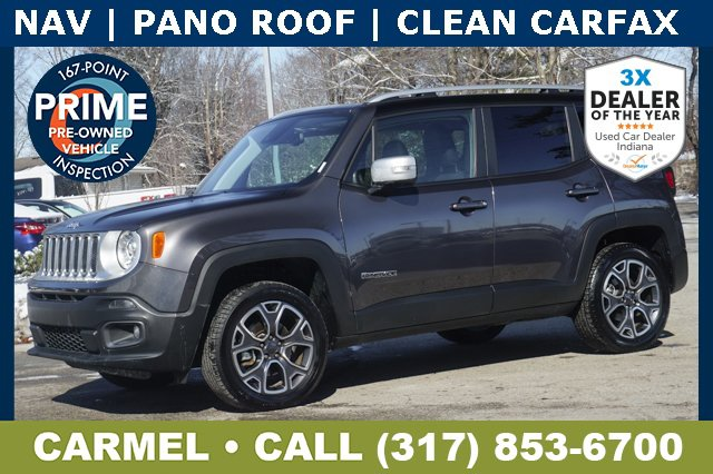 Used 2018 Jeep Renegade in Indianapolis, IN