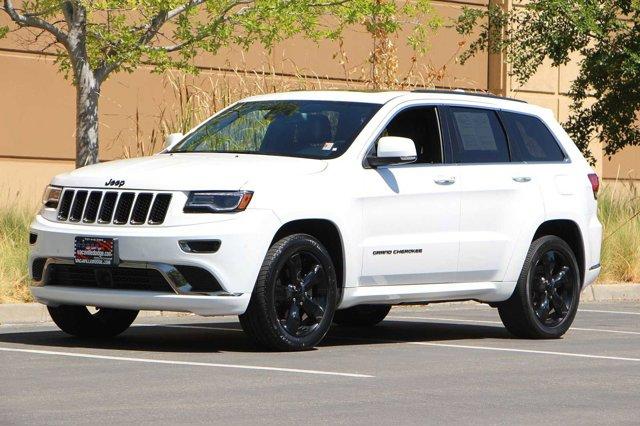 2016 Jeep Grand Cherokee High Altitude 8