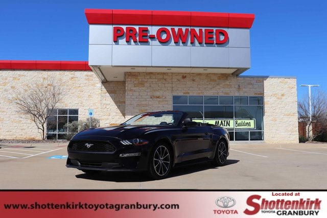 Used 2019 Ford Mustang in Granbury, TX