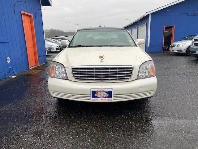 Used 2002 Cadillac DeVille 4dr Sdn