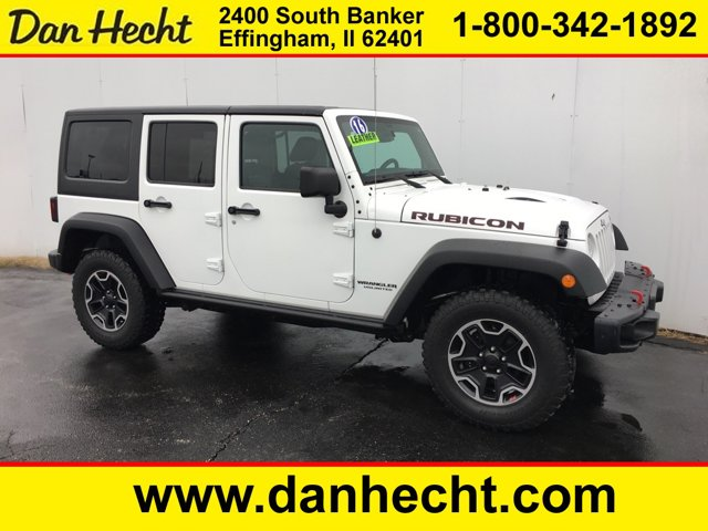 Used 2016 Jeep Wrangler Unlimited in Effingham, IL