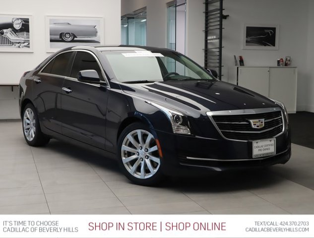 2017 Cadillac ATS Sedan RWD 4dr Sdn 2.0L RWD Turbocharged Gas I4 2.0L/122 [1]