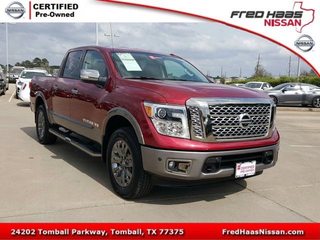 Used 2018 Nissan Titan in Tomball, TX