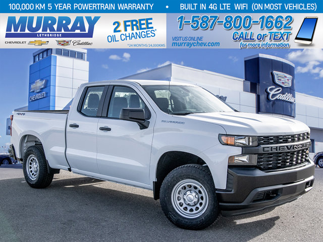 2021 Chevrolet Silverado 1500 | Rear Vision Camera | Infotainment Display | 4WD Double Cab 147″ Work Truck Gas V6 4.3L/262 [13]