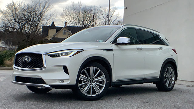 2021 INFINITI QX50 SENSORY SENSORY AWD Intercooled Turbo Premium Unleaded I-4 2.0 L/121 [5]