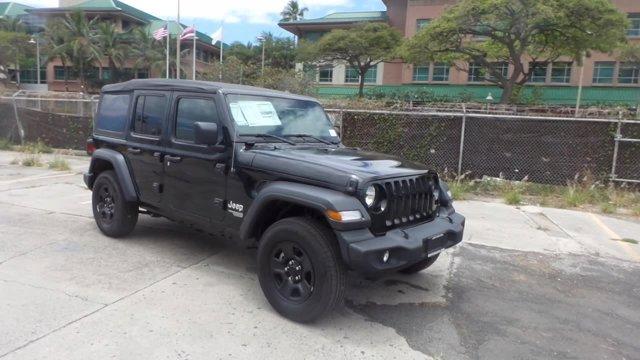 2019 Jeep Wrangler Unlimited Sport 4X4 w/Factory lift