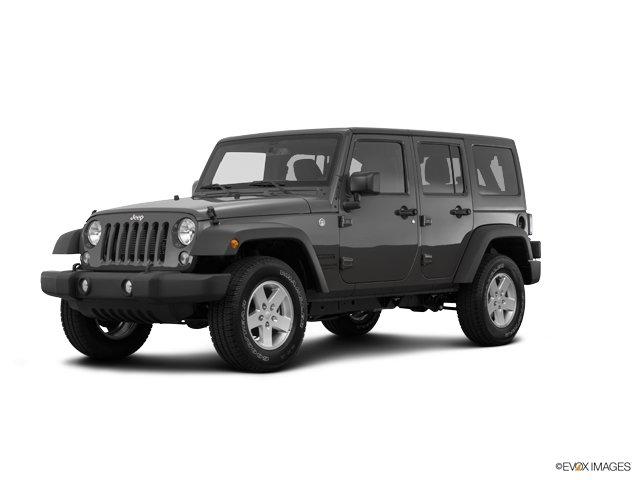 2017 Jeep Wrangler Unlimited Sport TIRES P25575R17 OWL ONOFF ROAD RADIO 430  -inc Remote USB