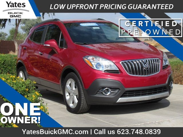 2015 Buick Encore Leather FWD 4dr Leather Turbocharged I4 1.4/83 [1]