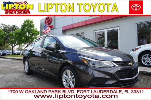 Used 2016 Chevrolet Cruze in Ft. Lauderdale, FL