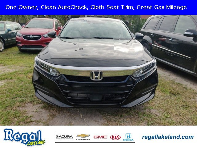 Used 2018 Honda Accord Sedan in Lakeland, FL
