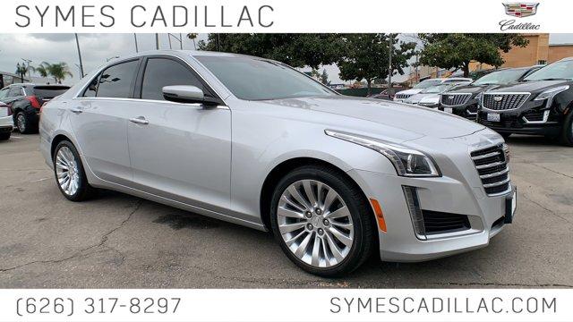 2018 Cadillac CTS Sedan Luxury RWD 4dr Sdn 2.0L Turbo Luxury RWD Turbocharged Gas I4 2.0L/122 [10]