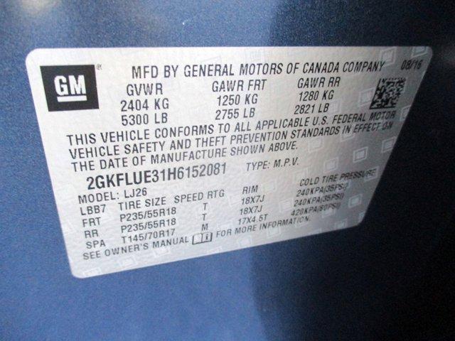 2017 GMC Terrain SLT AWD 4dr