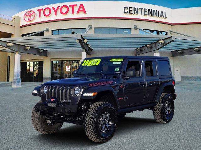Used 2020 Jeep Wrangler Unlimited in Las Vegas, NV