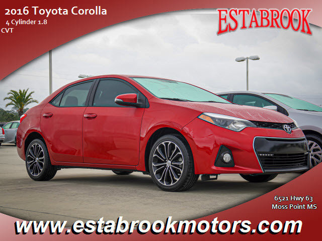 Used 2016 Toyota Corolla in Moss Point, MS