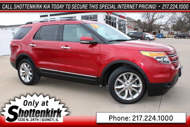 Used 2012 Ford Explorer in Quincy, IL
