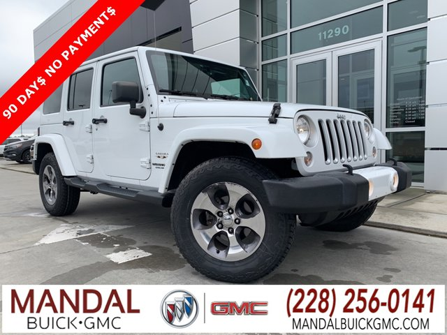 Used 2016 Jeep Wrangler Unlimited in D'Iberville, MS