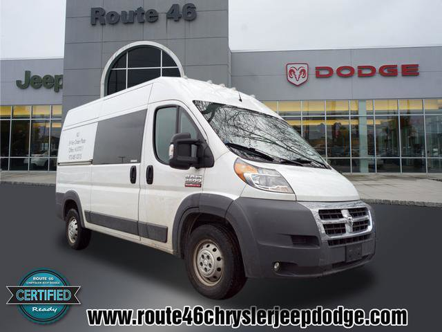 2016 Ram ProMaster Cargo Van 2500 136 WB BRIGHT WHITE CLEARCOAT RADIO UCONNECT 50  -inc 50 To